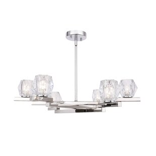 House of Hampton Haslemere 6-Light Shaded Chandelier