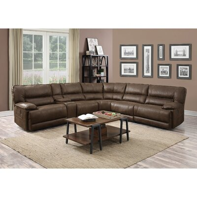 Karma Reclining Sectional Accentrics by Pulaski