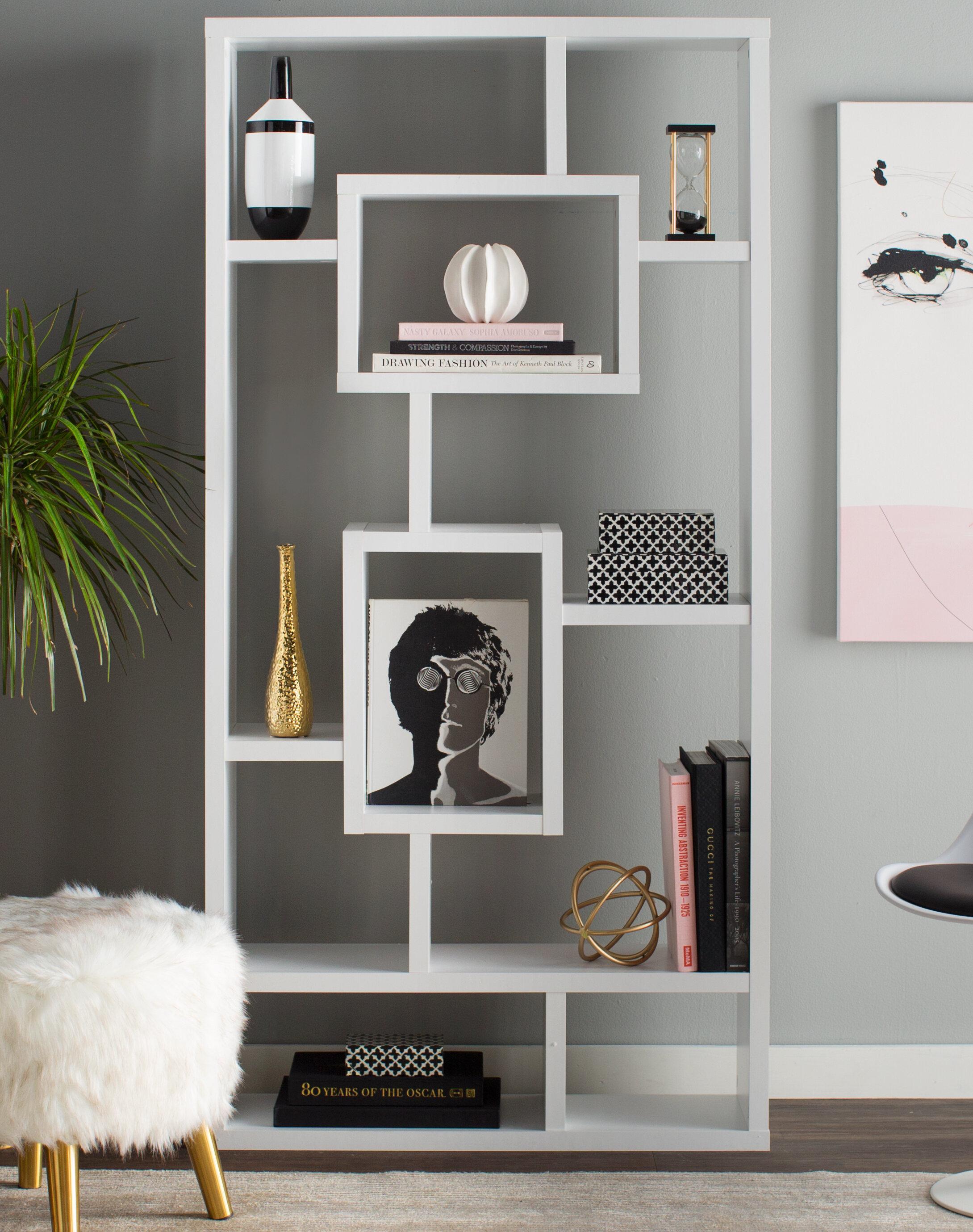 Mosher Geometric Bookcase