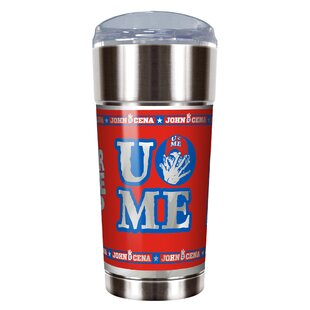 WWE John Cena Vacuum 24 oz. Stainless Steel Travel Tumbler
