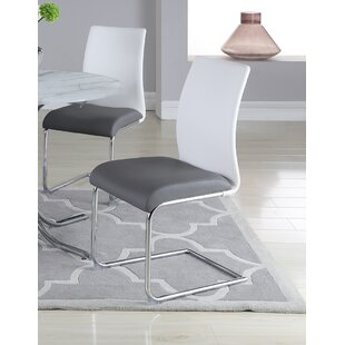 Souhail Upholstered Dining Chair (Set of 4) Orren Ellis