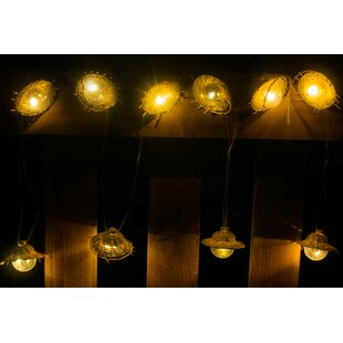 Winsome House Tiki 10-Light Lantern String Lights