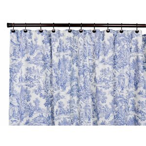 Lablanc Cotton Toile Shower Curtain