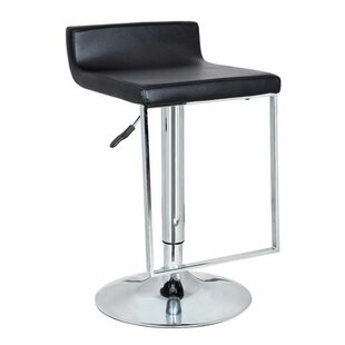 Spencer Adjustable Height Swivel Bar Stool by Bromi Design Great Reviews