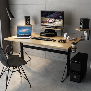 Johnathan Gaming Desk By Symple Stuff