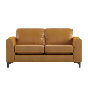 Modern & Contemporary Leather Sofa And Loveseat Set   AllModern