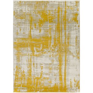 Jivaro Light Gray/Gold Area Rug