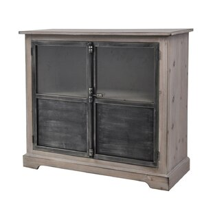 Pheonix Pine Wood 2 Door Accent Cabinet by Gracie Oaks