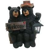 Outdoor Wood Bear Statues Wayfair