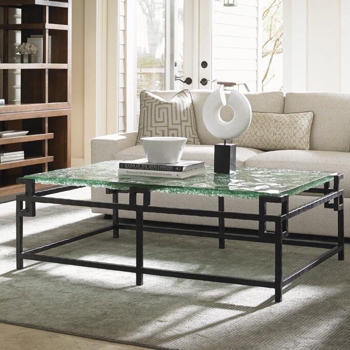 Tommy Bahama Home Island Fusion Hermes Reef Coffee Table Wayfair - Hermes coffee table