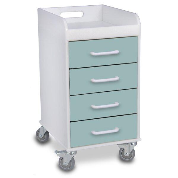 Wonderful TrippNT 4 Drawer File Storage Cart | Wayfair
