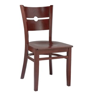 North Adams Coin Back Solid Wood Dining Chair (Set of 2) by Winston Porter