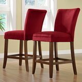 Doerr 24 Counter Stool (Set of 2) by Charlton Home®