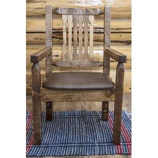 Buying Abella Rustic Arm Chair by Loon Peak Reviews (2019) & Buyer's Guide