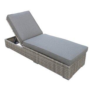 Brayden Studio Kaiser Chaise Lounge with Cushion