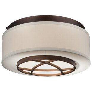 Loon Peak Giroflier 2-Light Flush Mount