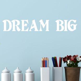 a618cdb62c8 Dream Big Wall Decal