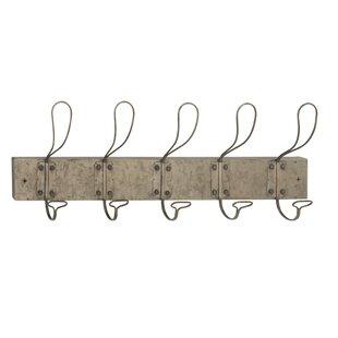 Hocking Iron Wall Mounted Coat Rack