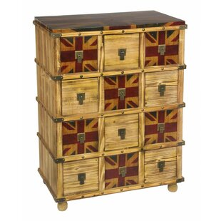 Westbury Union Jack 12 Drawer Chest By Williston Forge