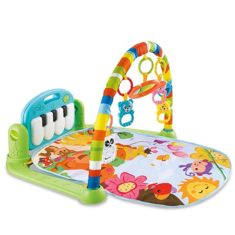 Baby Gym Play Mats Kick And Play Piano Gym Activity Center For Infants
