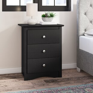 Silvers Tall 3 Drawer Nightstand