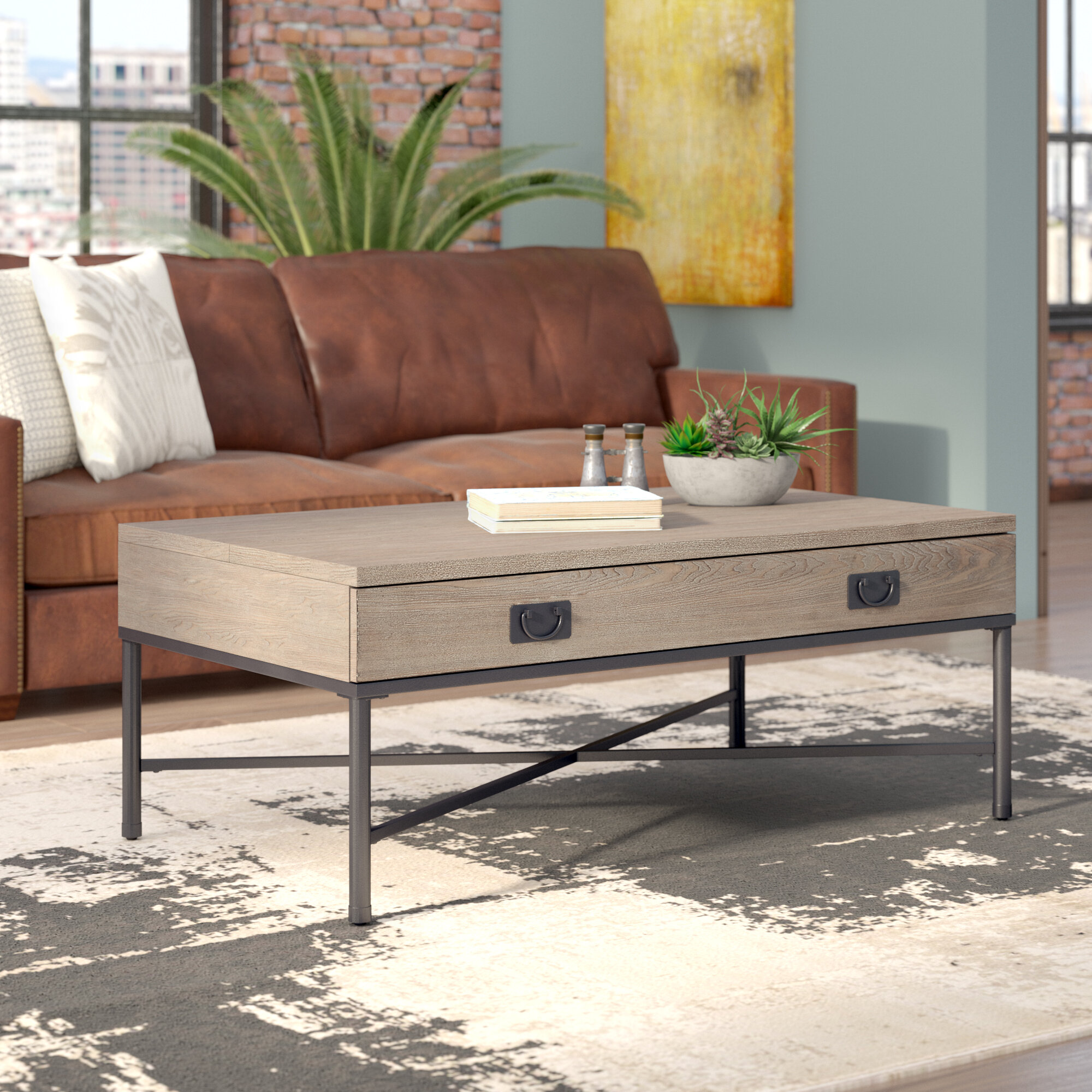 Williston Forge Kori Coffee Table with Lift Top & Reviews