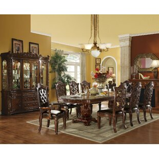 Synthia 9 Pieces Extendable Dining Set by Astoria Grand Wonderful