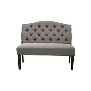 Darley Button Tufted Back Upholstered Bench