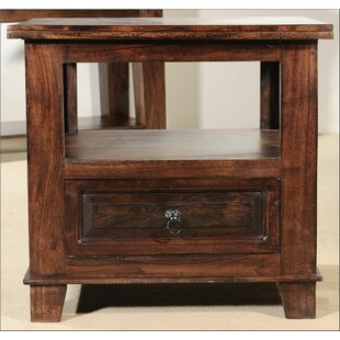 Castle End Table by Aishni Home Furnishings