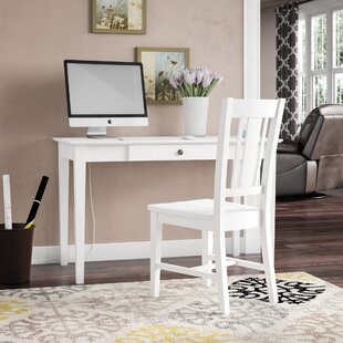 Admirable Aeliana Solid Wood Writing Desk With Chair Set Ibusinesslaw Wood Chair Design Ideas Ibusinesslaworg