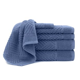 Bars 6 Piece 100% Cotton Towel Set