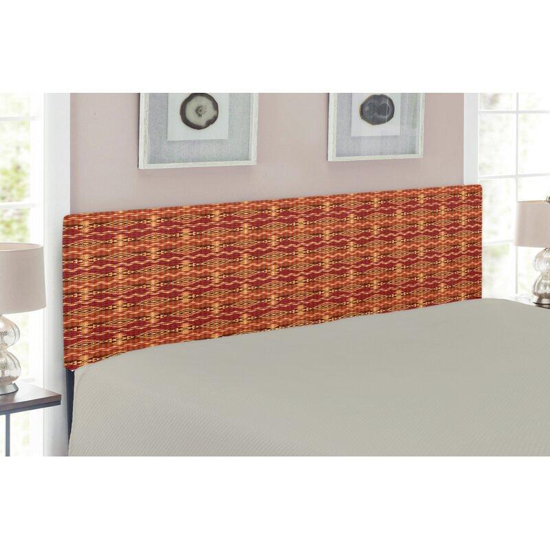 Native American Upholstered Panel Headboard