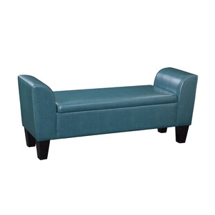 Chloe Faux Leather Storage Bench by Grafton Home