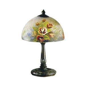 Ouellette Rose Dome 16 Table Lamp