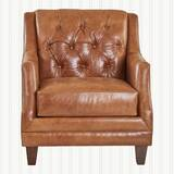 Derbyshire Leather Configurable Living Room Set by Three Posts
