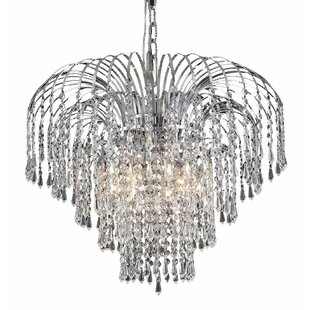 Westrem 6-Light Crystal Chandelier