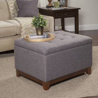 Strange Nunnally Tufted Storage Ottoman Reviews Birch Lane Gmtry Best Dining Table And Chair Ideas Images Gmtryco