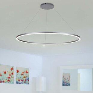 Price comparison Cherryford 1-Light LED Geometric Pendant ByWade Logan