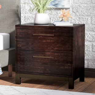 Mercury Row Zech 2 Drawer Nightstand