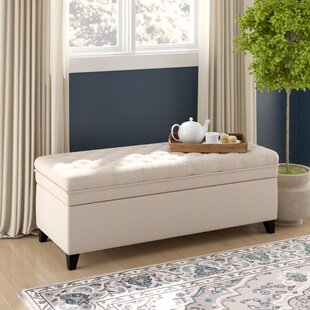Logan Tufted Storage Ottoman by Birch Lane™ Heritage