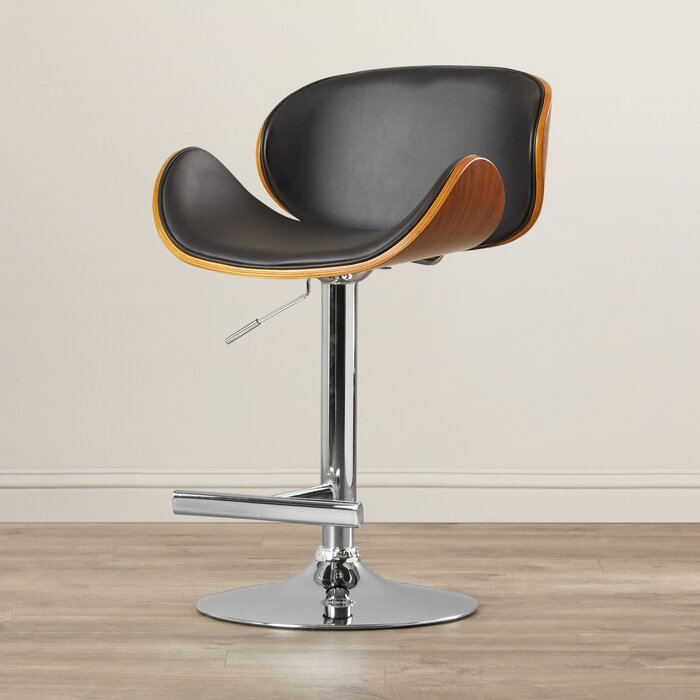Strange Calmar Adjustable Height Bar Stool Caraccident5 Cool Chair Designs And Ideas Caraccident5Info