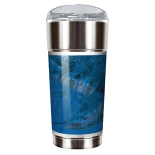 Mark Susinno's Thrashing Sailfish 24 oz. Stainless Steel Travel Tumbler