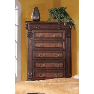 Fleur De Lis Living Noemi 5 Drawer Chest