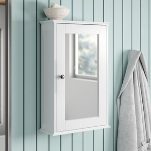 34cm X 53cm Surface Mount Mirror Cabinet By Brambly Cottage