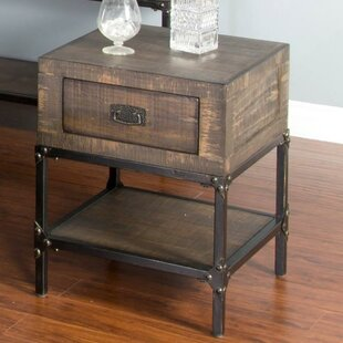 Hobbs End Table with Storage