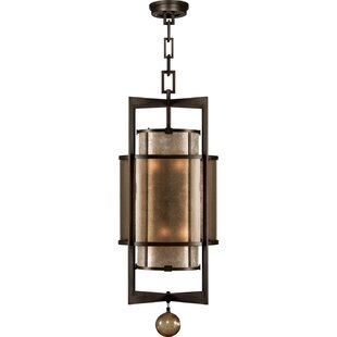 Singapore Moderne 6-Light Square/Rectangle Pendant by Fine Art Lamps