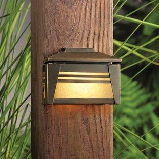 Online Reviews Zen Garden 1-Light Deck Light By Kichler