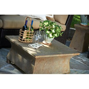 Astoria Stone Coffee Table by Peak Season Inc. Top Reviews