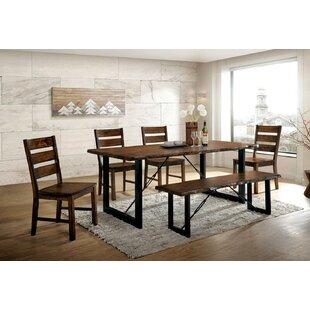 Ashling Dulce 6 Piece Solid Wood Dining Set