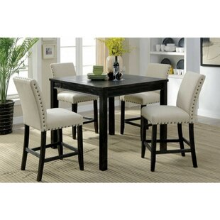 Pittard Rustic 5 Piece Pub Table Set